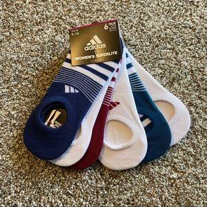 Women's Adidas Climalite SuperLite Socks (6 pairs)